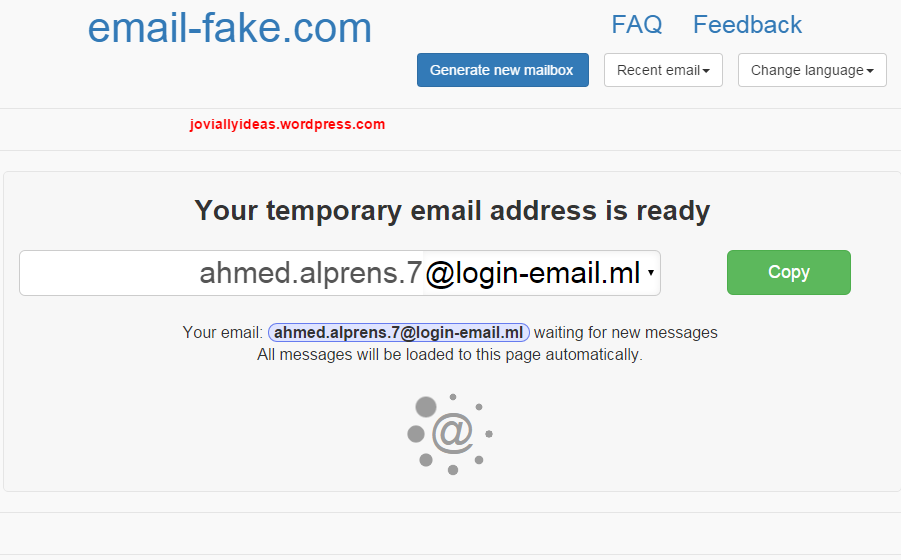To Email Id Fake Make How Joviallyideas… –